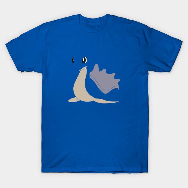 01972ddf6 Minimalist Pokemon, Lapras - Gamer - T-Shirt | TeePublic