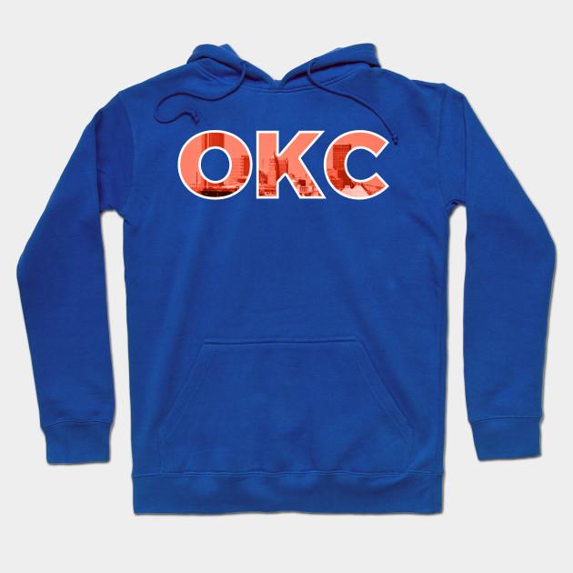 finest selection 66133 e13c5 Oklahoma City Thunder OKC Skyline