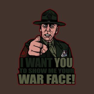 War Face t-shirts