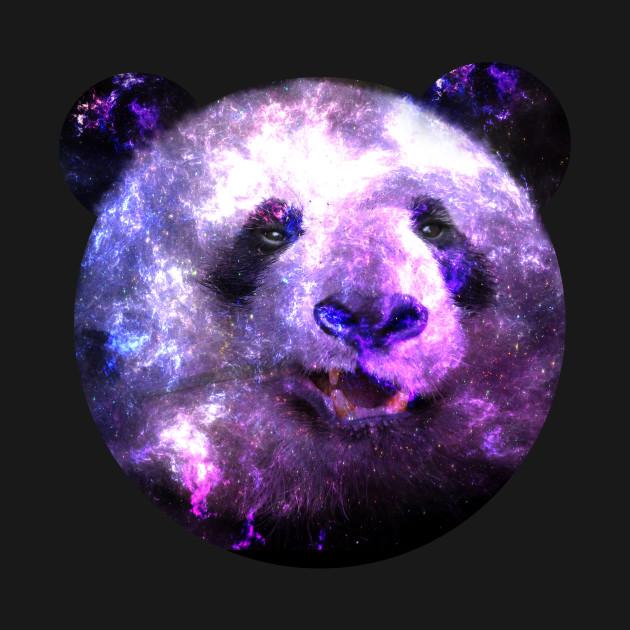 Funny panda bear galaxy panda galaxy t shirt teepublic 2408362 0 voltagebd Choice Image