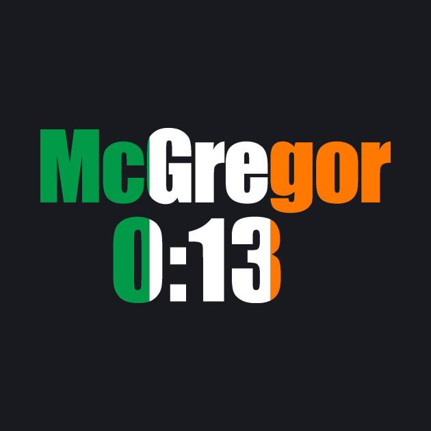 McGregor 0:13
