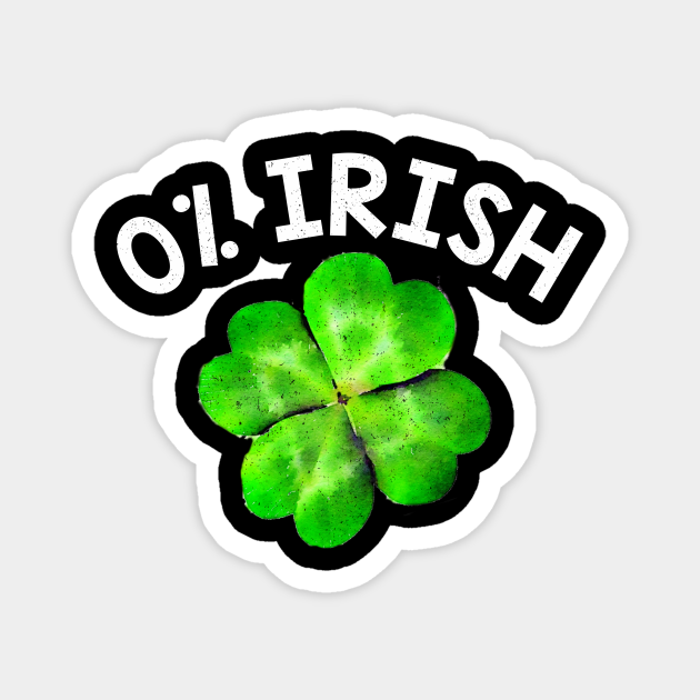 0% Irish Four-Leaf Clover-St. Patrick's Day