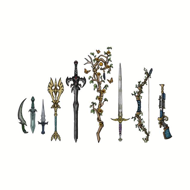 Vox machina weapons