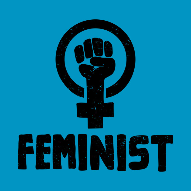 Raised Fist Feminist Shirt