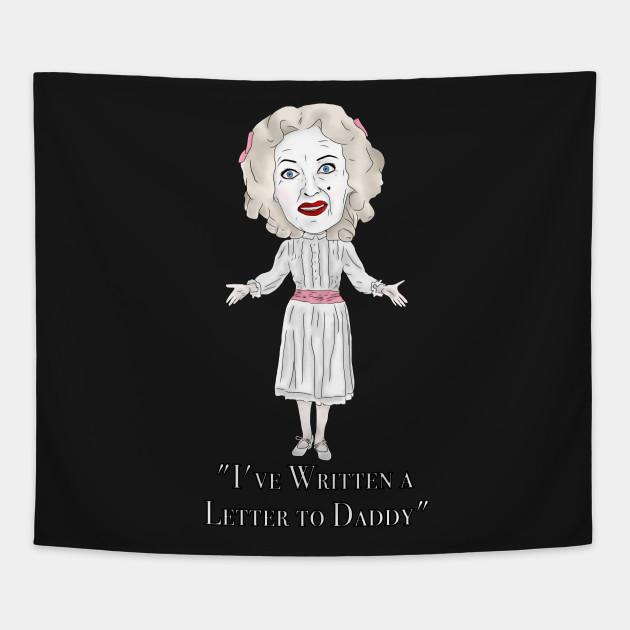 Bette Davis, Whatever Happened to Baby Jane Inspired Illustration