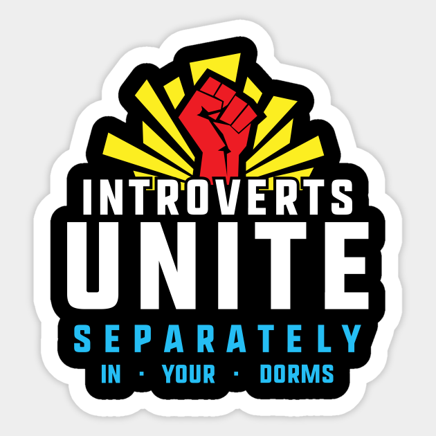Introverts Unite Separately in Dorms Funny Student ...