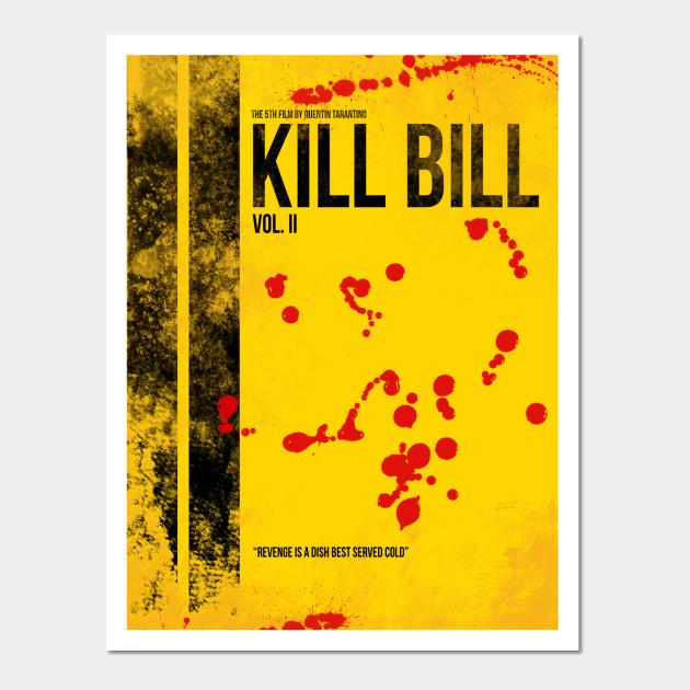 Kill Bill - Tarantino Minimal Film Movie Alternative - Kill Bill ...
