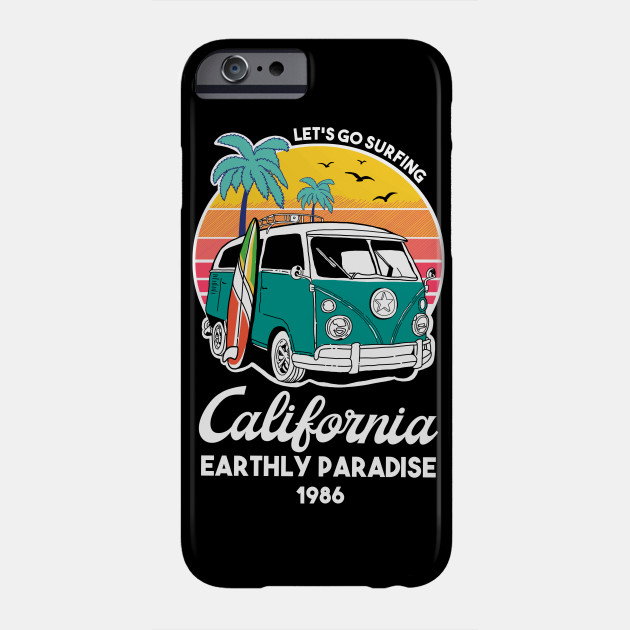 California Earthly Paradise Phone Case