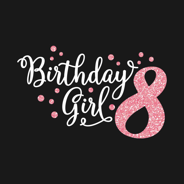 Birthday Girl Glitter 8