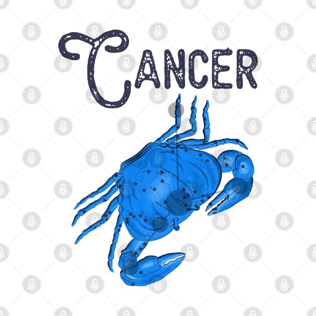 Cancer ))(( Astrological Sign Zodiac Constellation Design