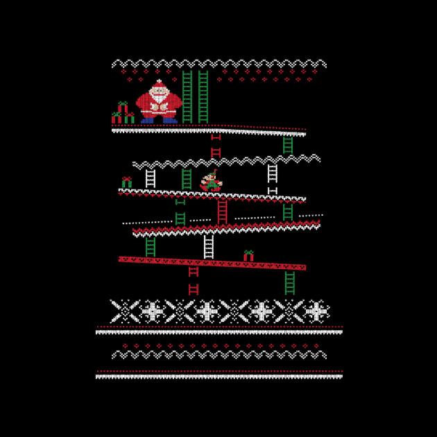 Santa Kong Christmas Sweater