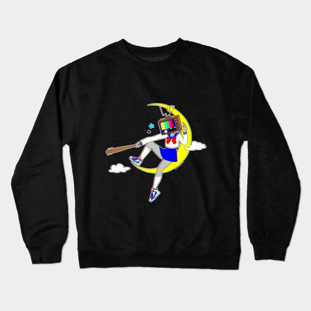 39b049e23a Wannabe Heroine by bluethebone - Anime - Crewneck Sweatshirt | TeePublic
