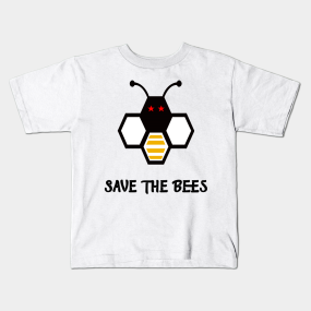 4ada673991b Save The Bees Kids T-Shirts