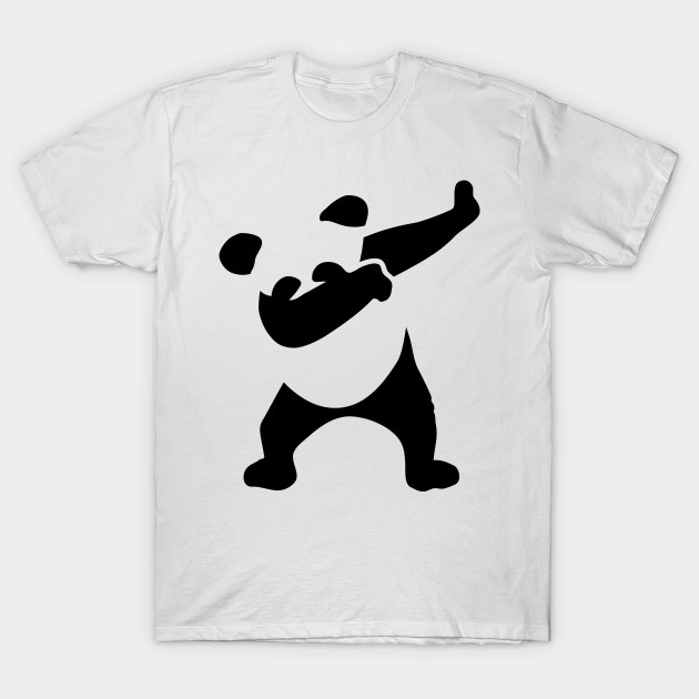 cute dabbing panda dabbing panda t shirt teepublic. Black Bedroom Furniture Sets. Home Design Ideas