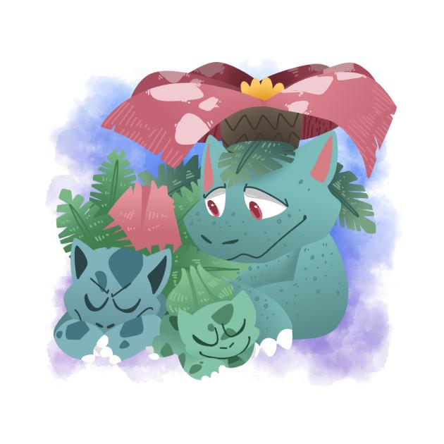 Bulbasaur family