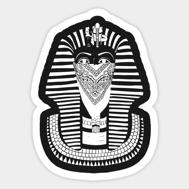 Pharoah Sticker
