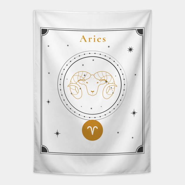 Aries | Astrology Zodiac Sign Design