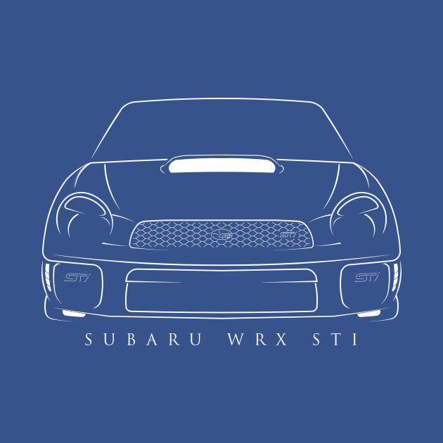 Subaru WRX STI - Stencil