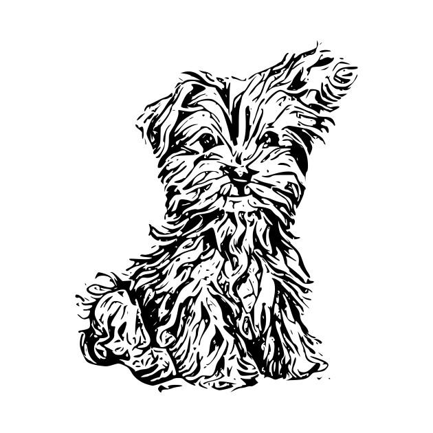 Cute Dog Drawing Animal T Shirt Teepublic