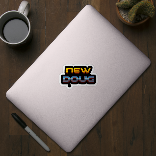 New Doug From Ragnarok Thor Sticker Teepublic