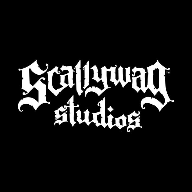 Scallywag Studios Logo (white)