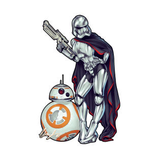 Captain Phasma and BB8