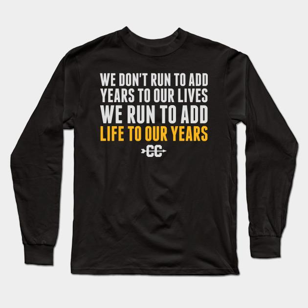 02d44214 Cross Country Running Shirt - Funny Cross Country Running Tee Shirt Long  Sleeve T-Shirt