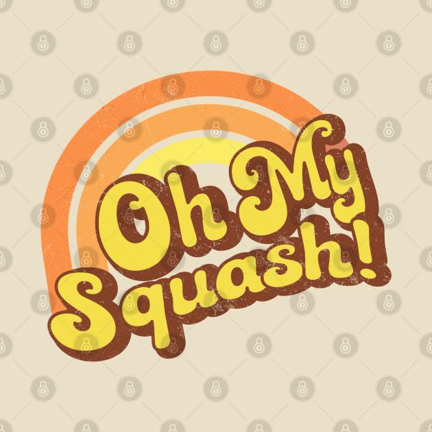 Oh My Squash - Retro Rainbow