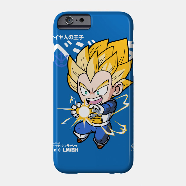 087c91fb7 Chibi Final Flash - Vegeta - Phone Case | TeePublic