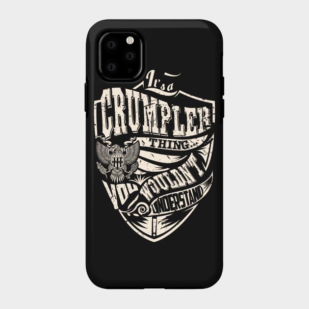 Orgulloso flojo Ataque de nervios  It's a CRUMPLER Thing - Crumpler - Phone Case | TeePublic