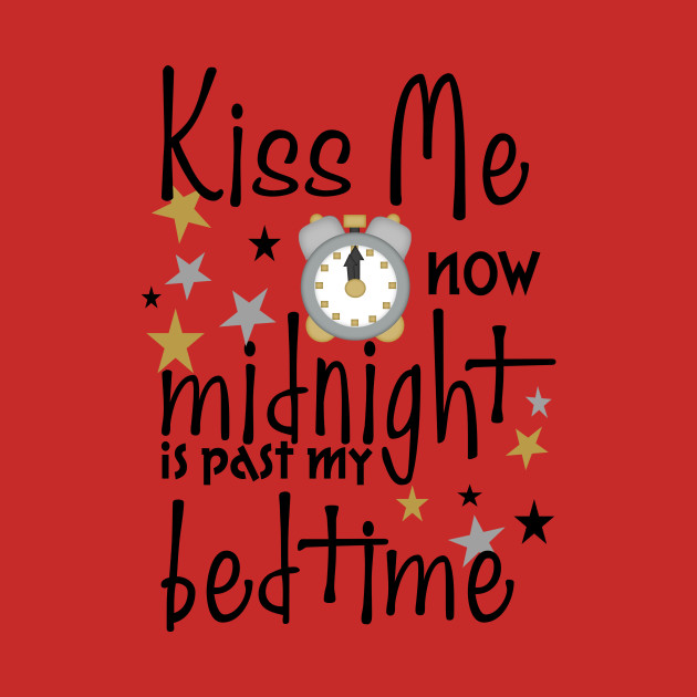 kiss me at midnight on new years eve