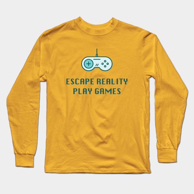 bb82d0ce8cb6 Escape Reality Play Games - Video Gamer Design - Video Games - Long ...