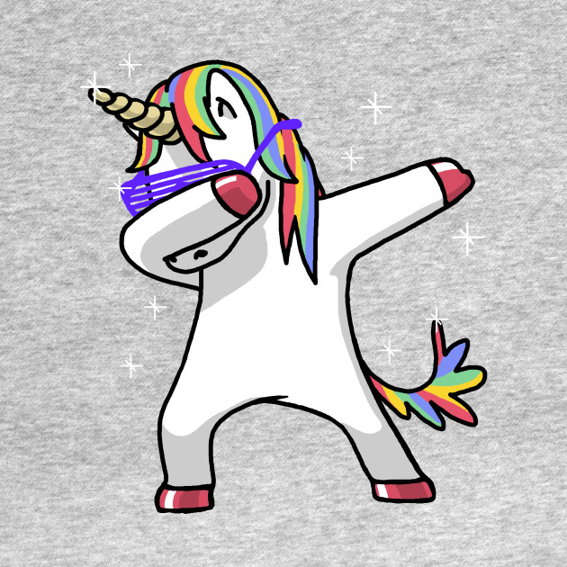 Dabbing unicorn shirt dab hip hop funny magic unicorn baseball t shirt teepublic - Unicorn dabbing pictures ...