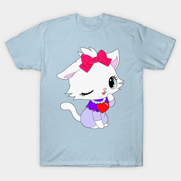 Cute Chibi Cat Cute Cats T Shirt Teepublic