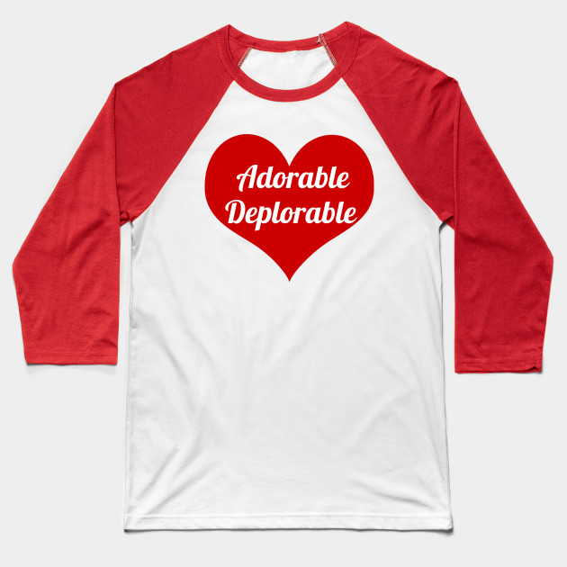 Adorable Deplorable With Heart, Red Heart