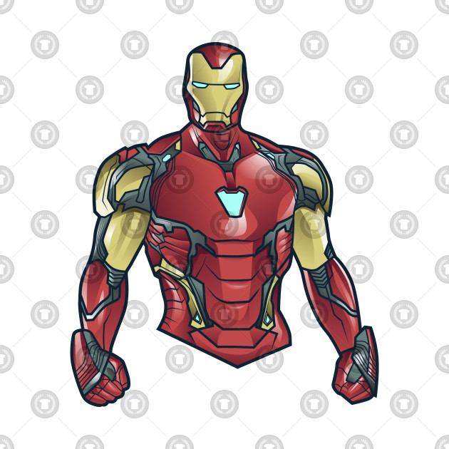 Iron Man mark 85 - Iron Man - T-Shirt   TeePublic