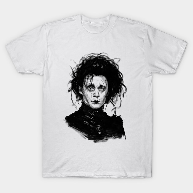 a82b73a52 Edward Scissorhands - Edwards Scissorhands - T-Shirt   TeePublic