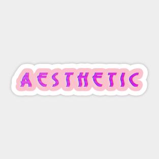 Retro Aesthetic Stickers Teepublic