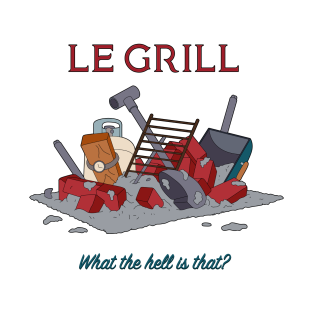 Le Grill t-shirts