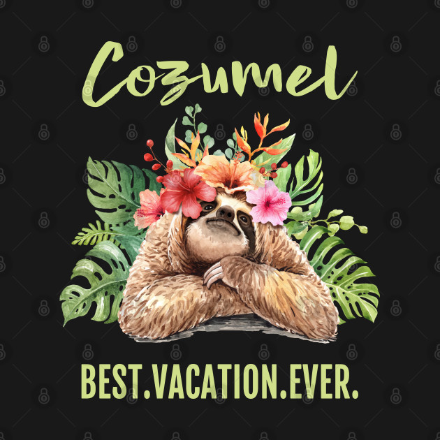 Cozumel Best Vacation Ever Souvenir Gift