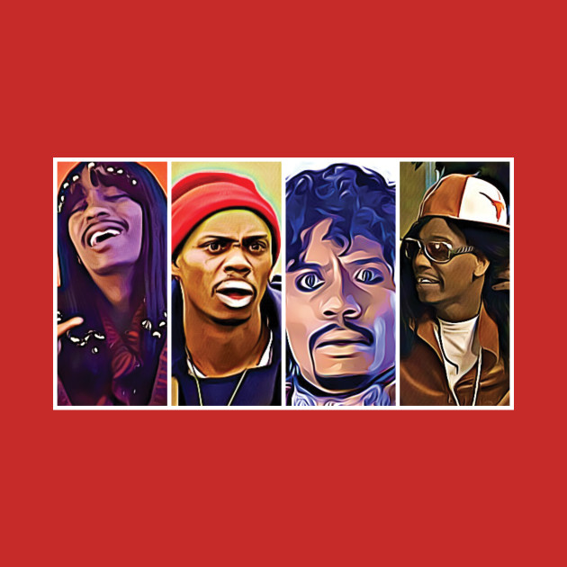 Many Faces of Dave Chappelle