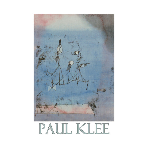 Twittering Machine >> Twittering Machine 1922 By Paul Klee
