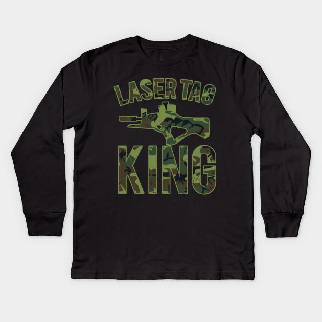 1dfa2e1cb417 Laser Tag Shirt   King Camouflage Gift