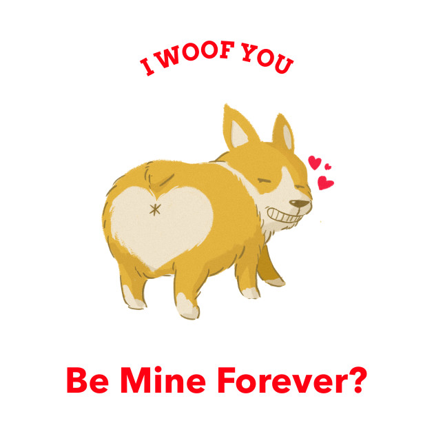 I woof you - proposal