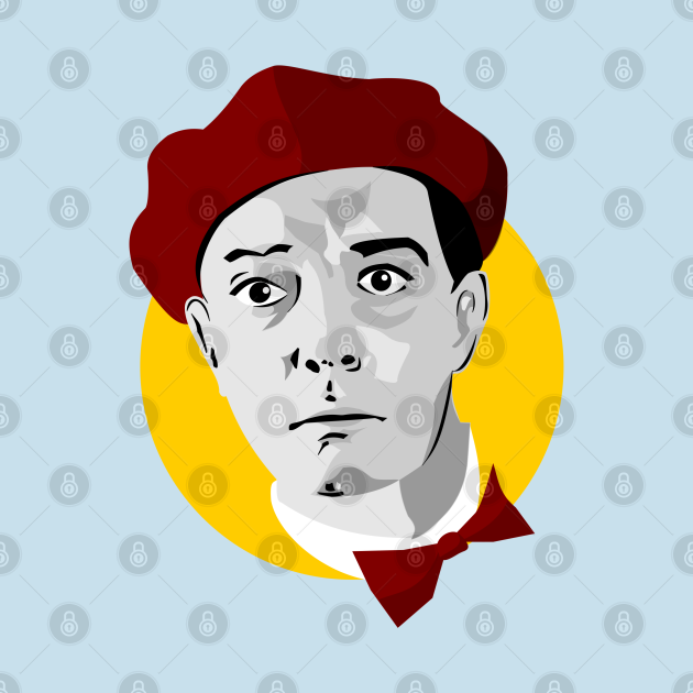 Colored Buster Keaton