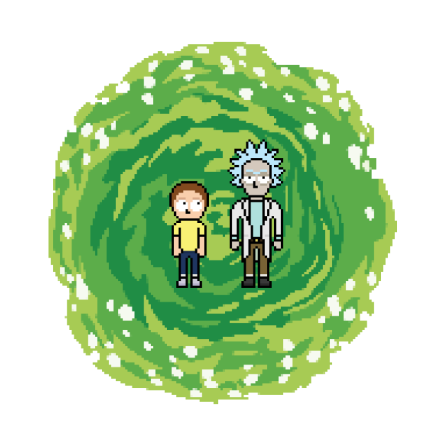 A scientist and his grand son