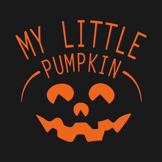 d64990ec1de77 ... My Little Pumpkin Halloween Maternity T-Shirt Pregnancy Announcement