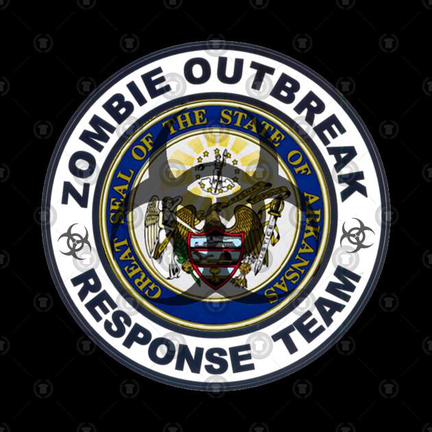 Arkansas Zombie Response Team Seal
