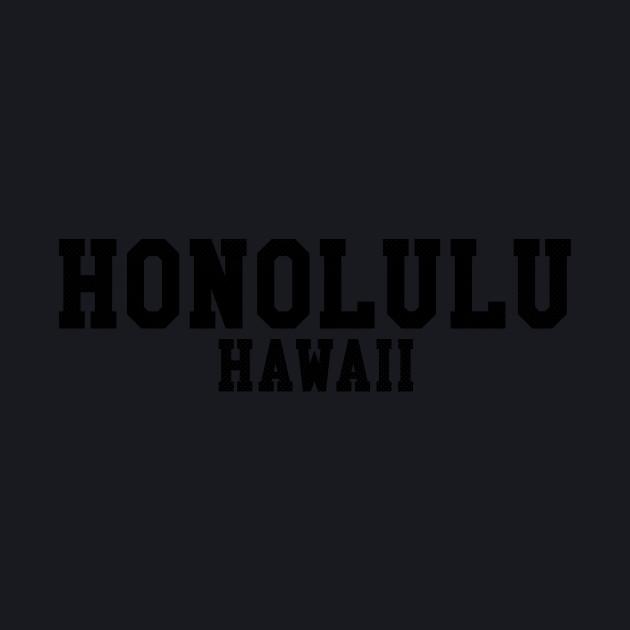 Honolulu, Hawaii - HI Sports Text