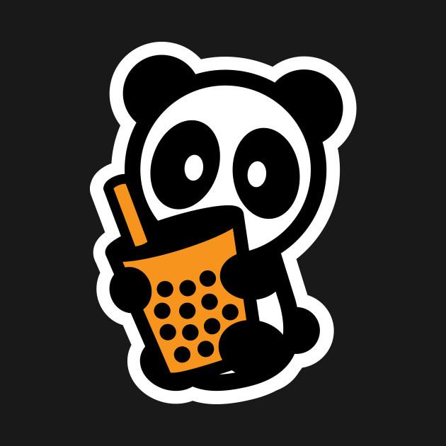 Bubble Tea Panda Bambu Brand Boba